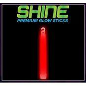 Premium Shine Bright - Red Glow Stick